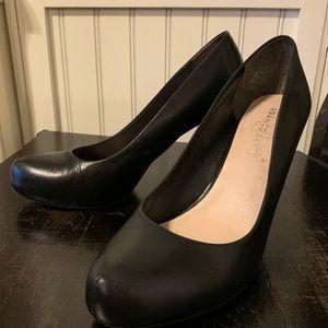 Franko Sarto, black platform heel